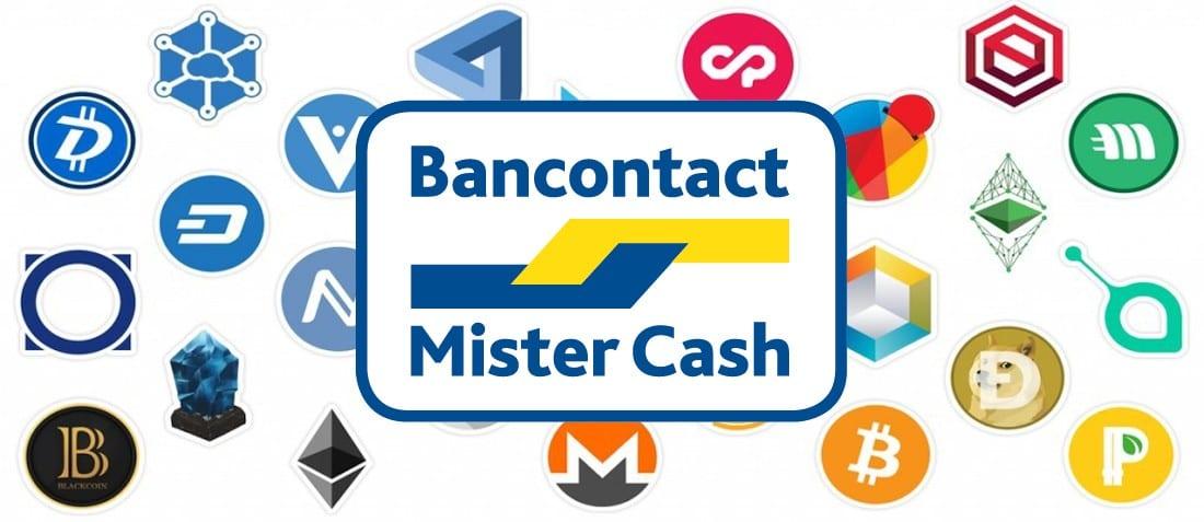Cryptocurrency kopen met Bancontact